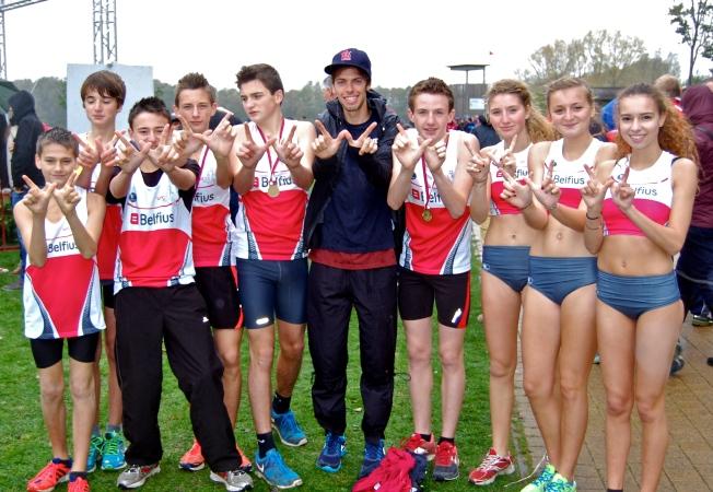 Victoire en cadets garçons, les filles 6e en scolaires avec deux coureuses de 400m et une cadette